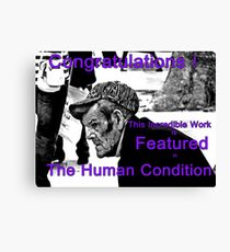 The Human Condition Banner Canvas Print