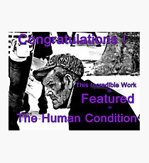 The Human Condition Banner Photographic Print