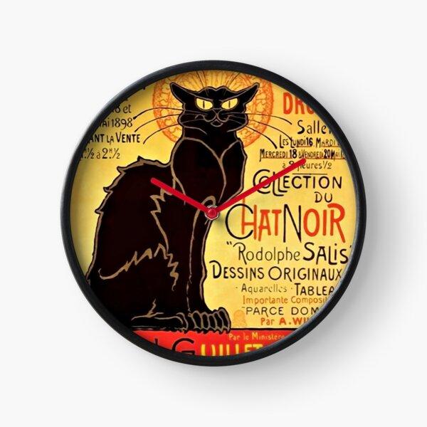 Le Chat Noir, Exposition particulière - 1896 Clock