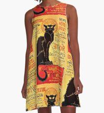 Le Chat Noir, Exposition particulière - 1896 A-Line Dress