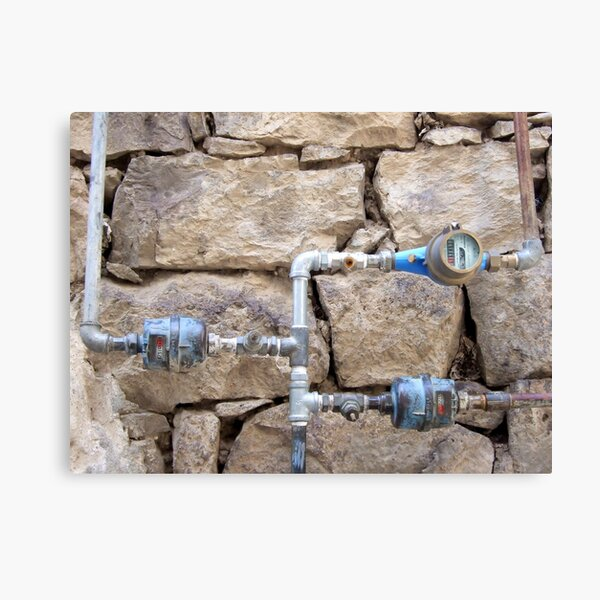 Water Authority Canvas Print