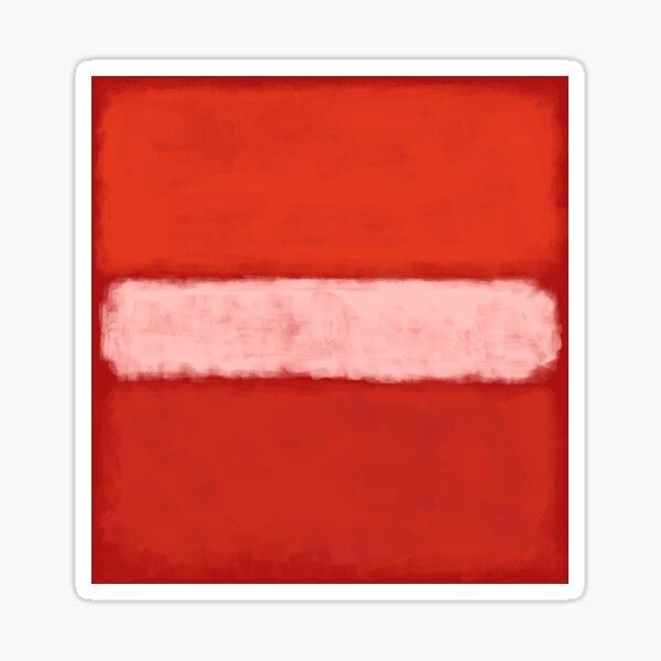 Rothko inspiró # 14 Pegatina