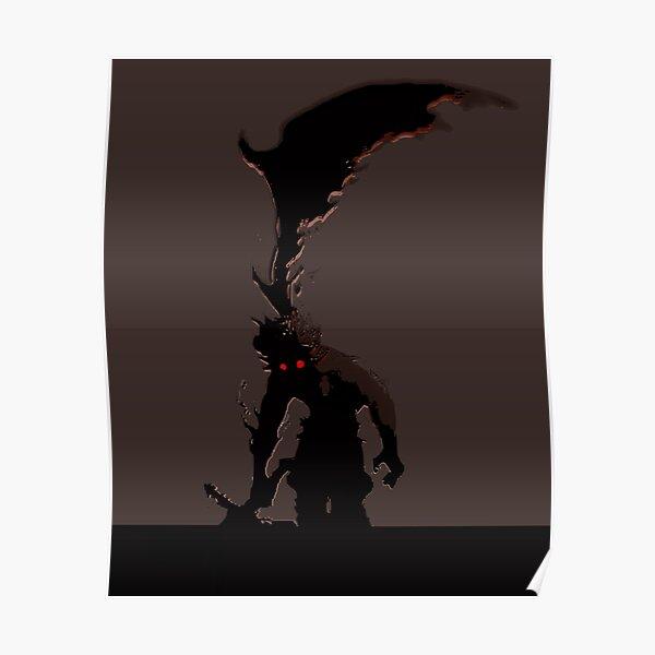 Demon Asta - Black Clover Póster