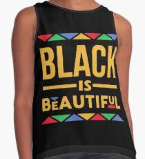 Black is Beautiful Contrast Tank