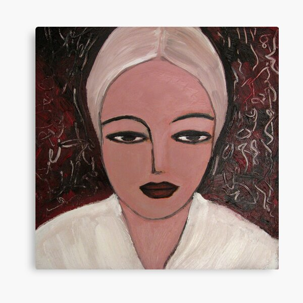 Nordic girl Canvas Print