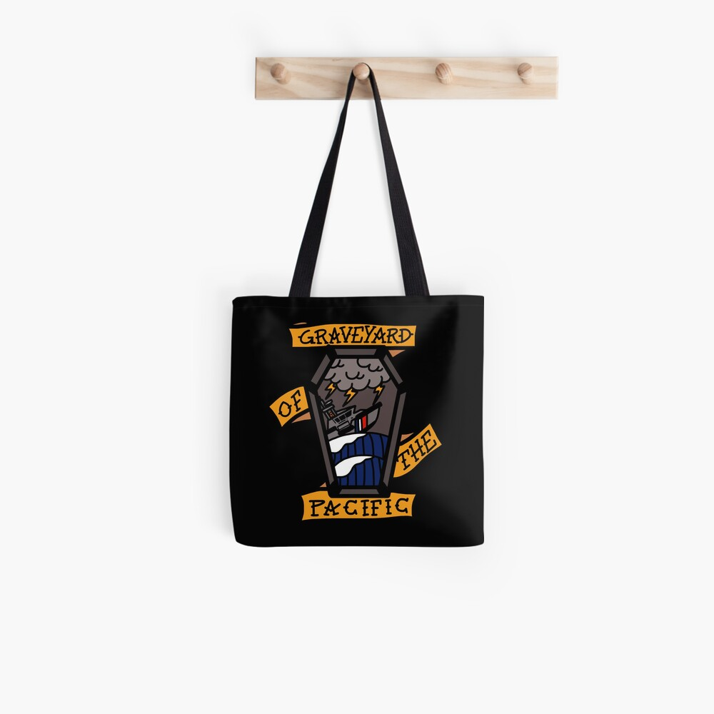 Coast Guard Graveyard of the Pacific Tote Bag