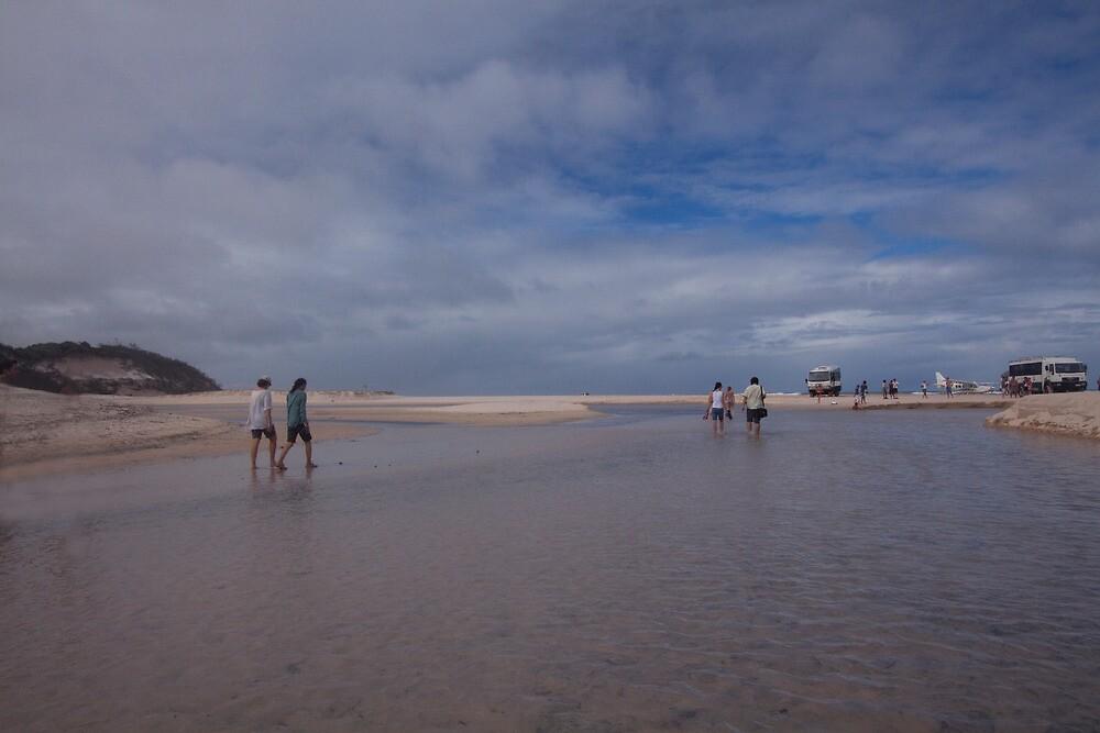 Eli Creek, Fraser Island by smallan