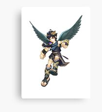 Kid Icarus - Dark Pit Canvas Print