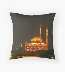 MOHAMED ALY MOSQUE Throw Pillow