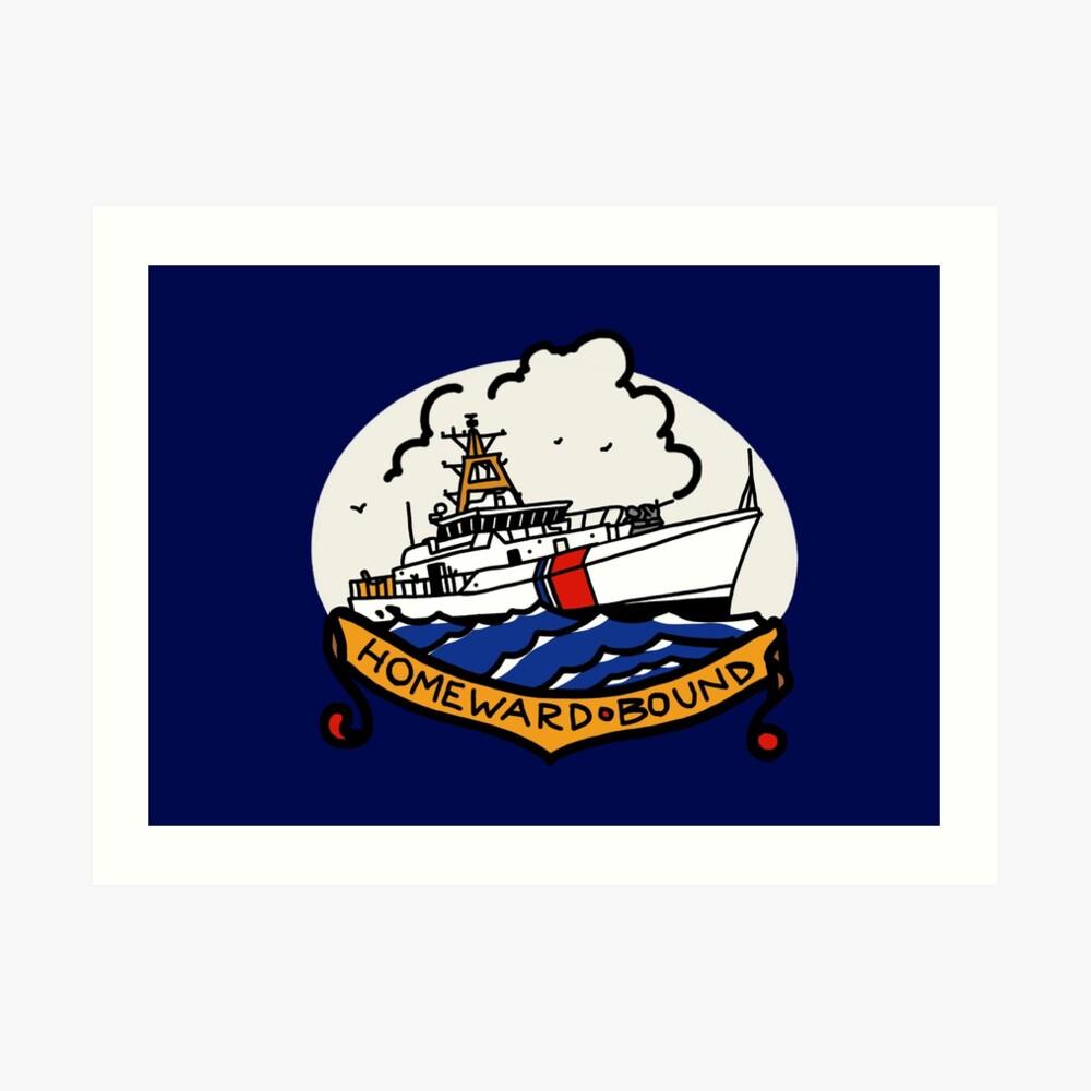 Coast Guard FRC Homeward Bound Art Print