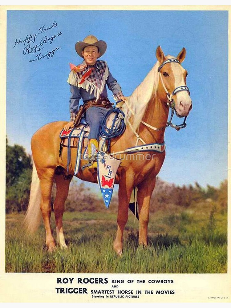 Roy Rogers by texasdrummer
