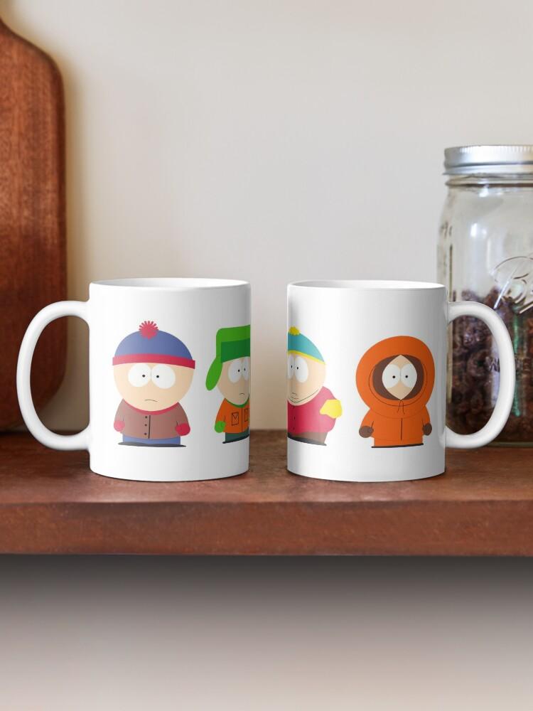 South Park Ceramic Mug GIFT Kyle Kenny Stan 110Z MUG