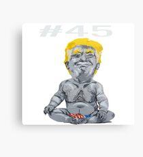 #45 President Trump Metal Print