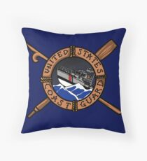 Coast Guard Boat Forces 47 MLB Throw Pillow