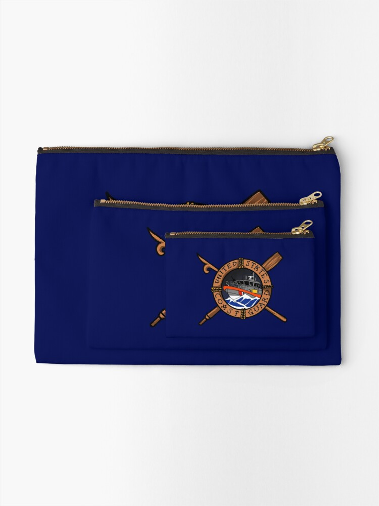 Alternate view of Coast Guard Boat Forces 45 RB-M Zipper Pouch