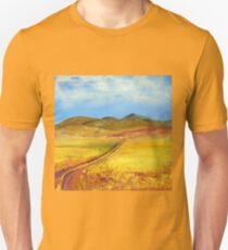 A road in Namibia Unisex T-Shirt