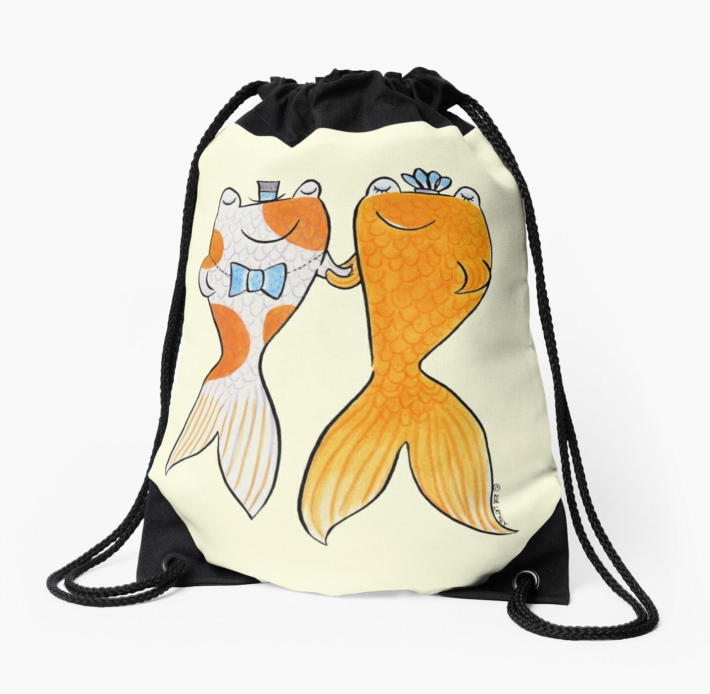 Goldfish Wedding Couple by zoel