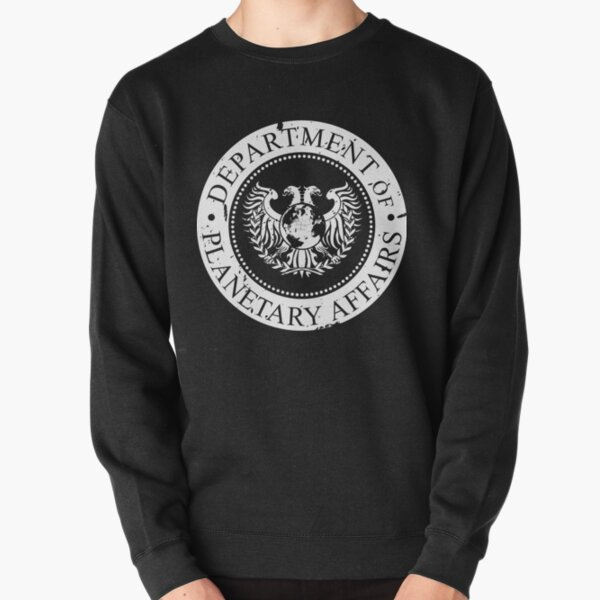 DPA Black and White Pullover Sweatshirt