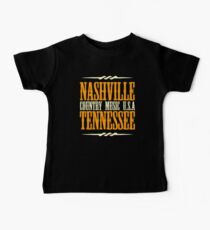 Nashville Tennessee Country Music Baby Tee