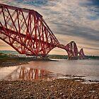 The Forth Bridge - Scotland by Susan Dost