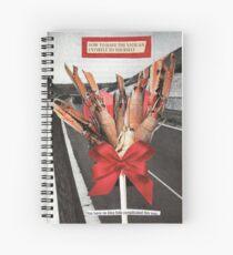 Crawfish Bouquet Spiral Notebook