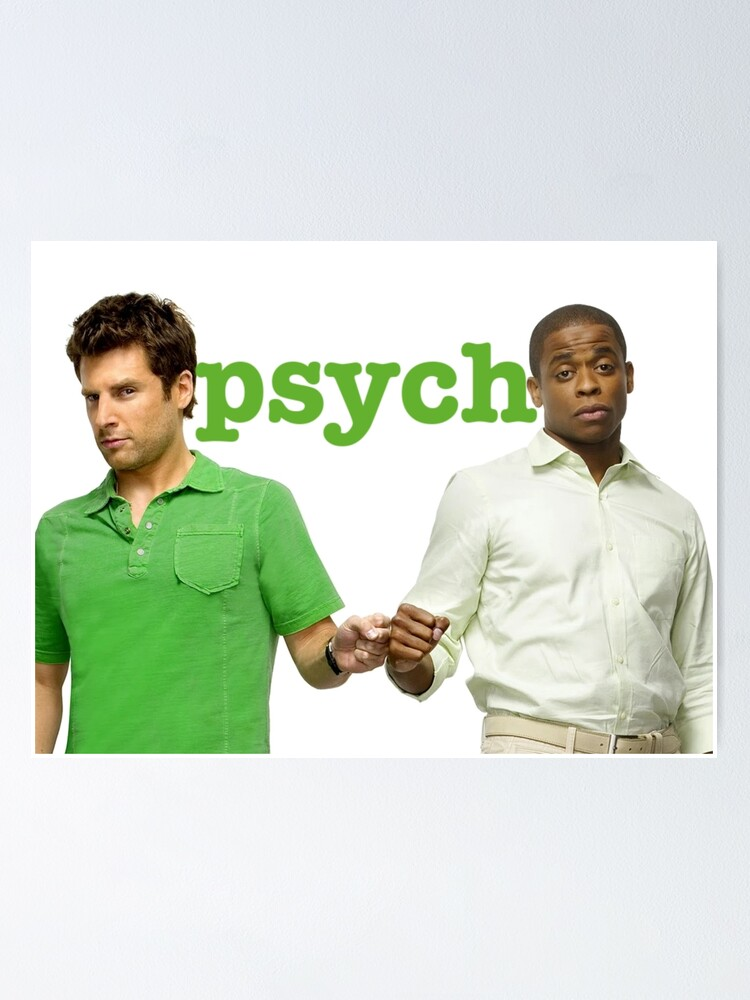 Alternate view of Psych- Fist Bump Poster
