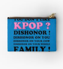 DISHONOR ON YOU! - BLUE Studio Pouch