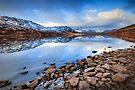 Loch Arklet , normal exposure... by David Mould