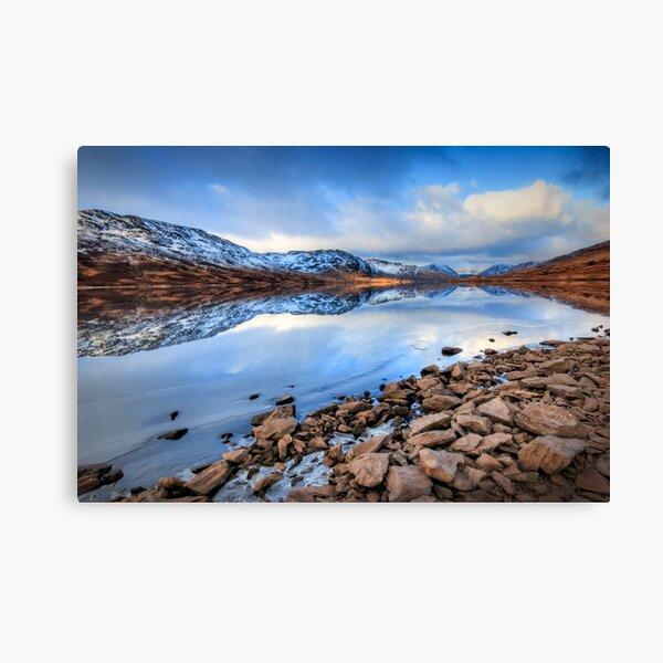 Loch Arklet , normal exposure... Canvas Print