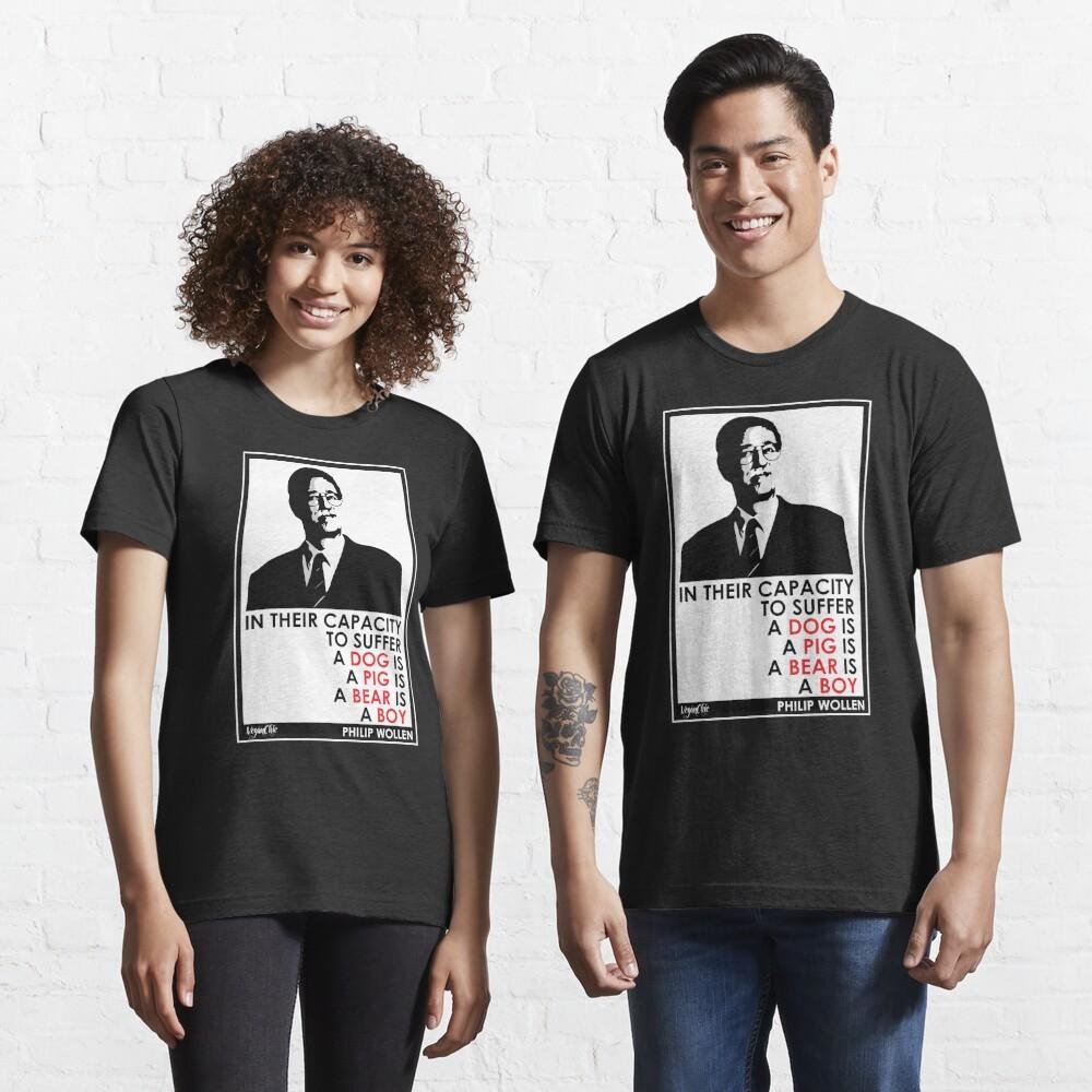 VeganChic ~ Philip Wollen Inspire Essential T-Shirt