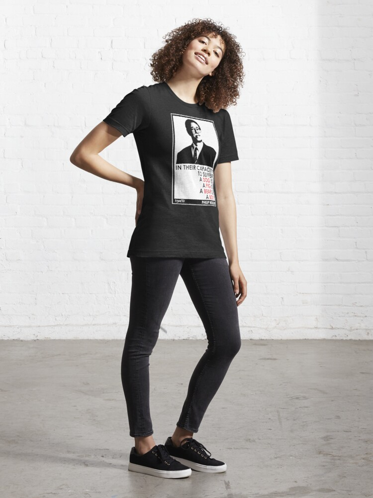 Alternate view of VeganChic ~ Philip Wollen Inspire Essential T-Shirt