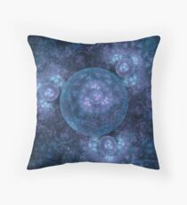 Blue moons Throw Pillow