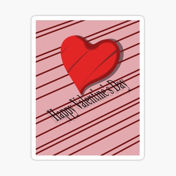 Valentine's Day  Sticker