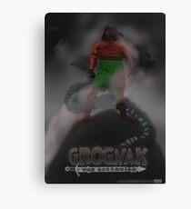 Grognak the Barabarian Skyrim parody Canvas Print
