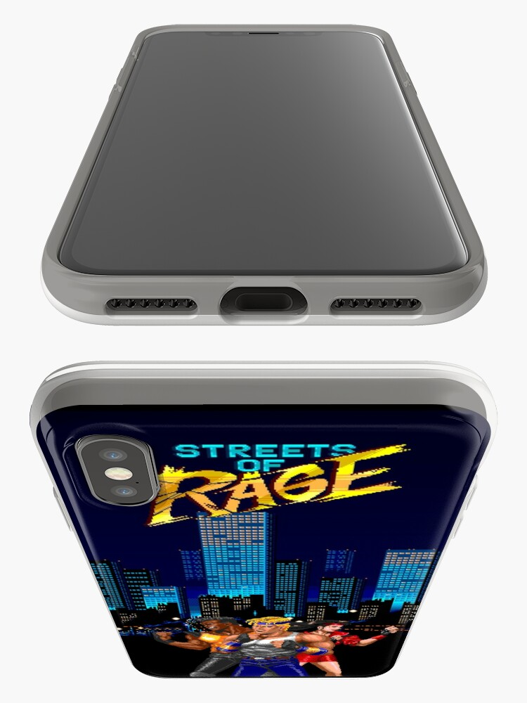 Alternate view of Street of Rage poster iPhone Cases & Covers