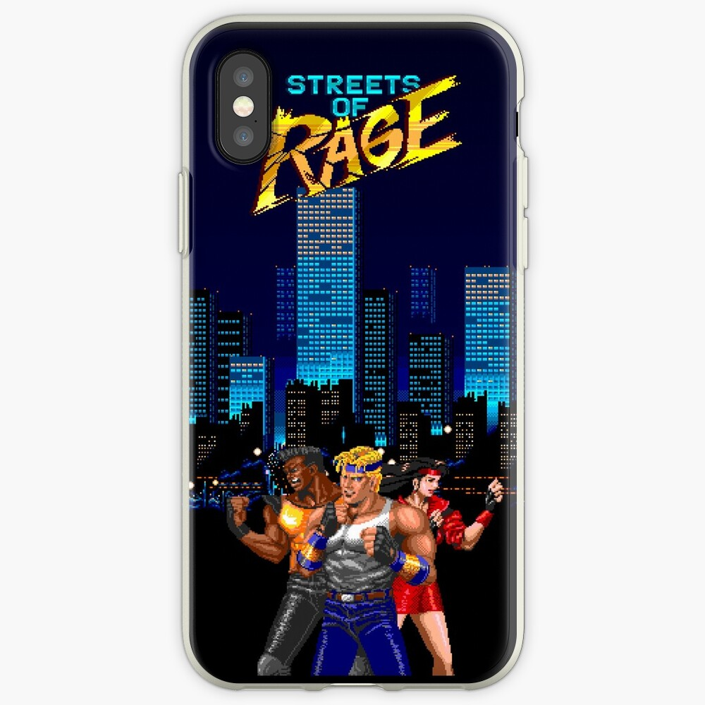 Street of Rage poster iPhone Cases & Covers