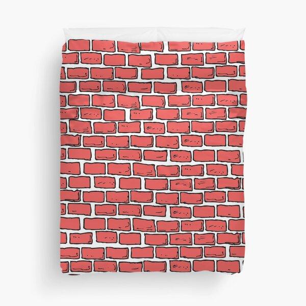Bricks Duvet Cover