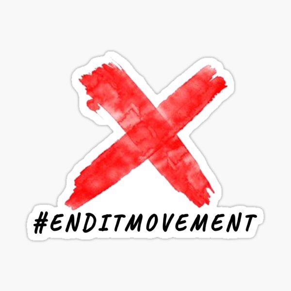 Endit Movement Sticker