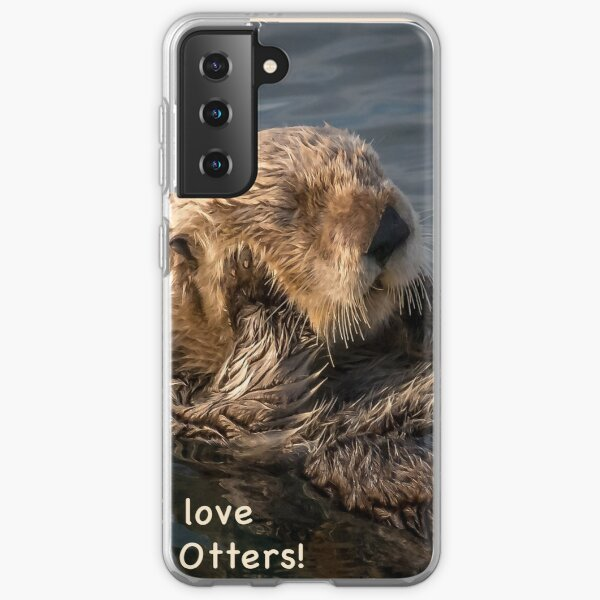 Sleepy Sea Otter! Samsung Galaxy Soft Case
