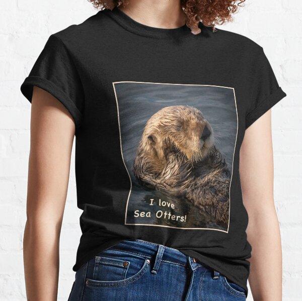 Sleepy Sea Otter! Classic T-Shirt