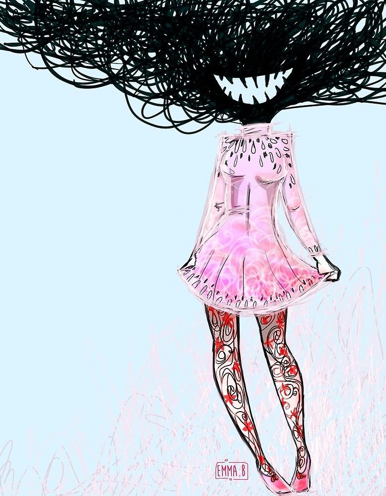 FASHION MONSTERS - DressGirl by twistylemons