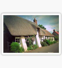 Village Cottages Sticker