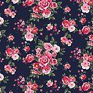 «flor de textura en color rosa» de designersara