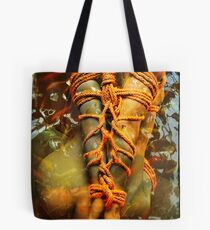sitting Tote Bag