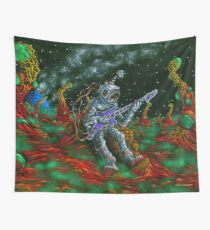 MUSIC IS HIS OXYGEN! Wall Tapestry