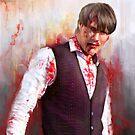 "Mads ""Hannibal"" Mikkelsen by Syac Studio"
