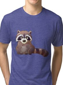 Little cute raccoon Tri-blend T-Shirt