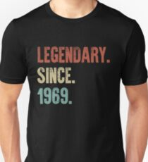 Retro Vintage 50. Geburtstag legendär seit 1969 Slim Fit T-Shirt