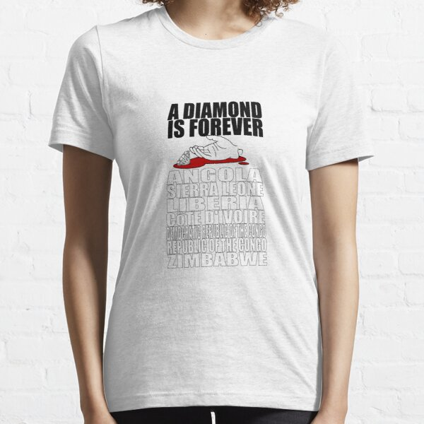 Diamonds are Forever - Limbs are Not Essential T-Shirt