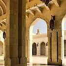 Grand Mosque, Oman by Amanda White